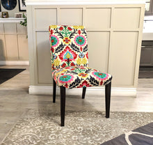 Load image into Gallery viewer, IKEA Dining Chair Cover, Colorful Mexican Flower for Henriksdal