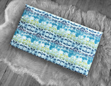 Load image into Gallery viewer, Tie-Dye Ocean Blue Green, IKEA STUVA Bench Pad Slip Cover