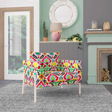 Load image into Gallery viewer, IKEA KOARP Armchair Covers, Colorful Floral Chair Cover