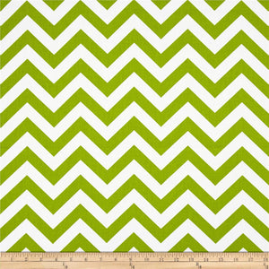 Green White Chevron IKEA KIDS POÄNG Cushion Slip Cover, Ready to Ship