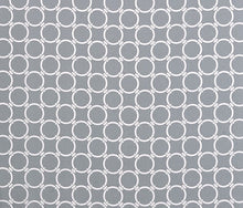 Load image into Gallery viewer, Ikea KIDS POANG Cushion Slipcover - Circles Linked Cool Grey