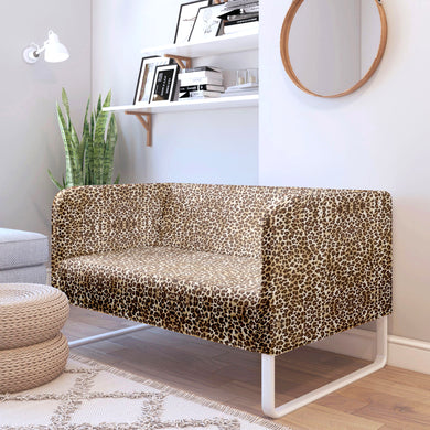 Brown Leopard, Cheetah Print IKEA KNOPPARP Slip Cover