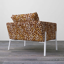 Load image into Gallery viewer, IKEA KOARP Armchair Covers, Brown Leopard Animal Print