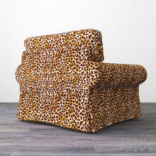 Load image into Gallery viewer, Leopard Print IKEA Ektorp Sofa Slipcover