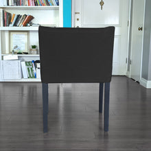 Load image into Gallery viewer, Black Linen IKEA NILS Chair Cover