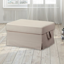 Load image into Gallery viewer, IKEA EKTORP Sofa Slip Cover, Solid Linen Oatmeal