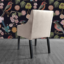 Load image into Gallery viewer, Oatmeal Beige Linen IKEA SAKARIAS Dining Chair Cover