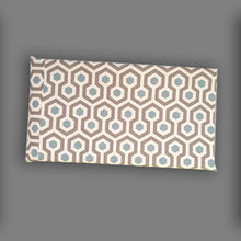 Load image into Gallery viewer, Oatmeal Honeycomb Pattern HEMMAHOS Bench Pad Slip Cover