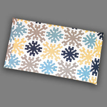 Load image into Gallery viewer, Mayan Tribal Pattern, IKEA STUVA Bench Pad Slip Cover, Blue, Yellow