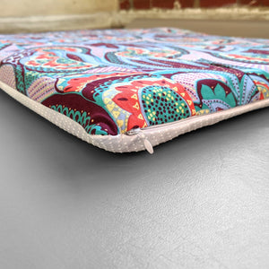Purple Colorful Flowers IKEA STUVA Bench Pad Slip Cover