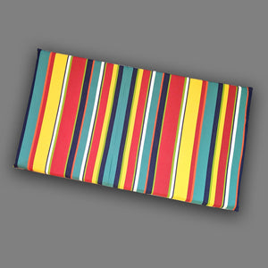Rainbow Stripe IKEA VISSLA Bench Pad Slip Cover