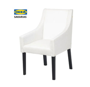 Purple Velvet IKEA SAKARIAS Dining Chair Cover