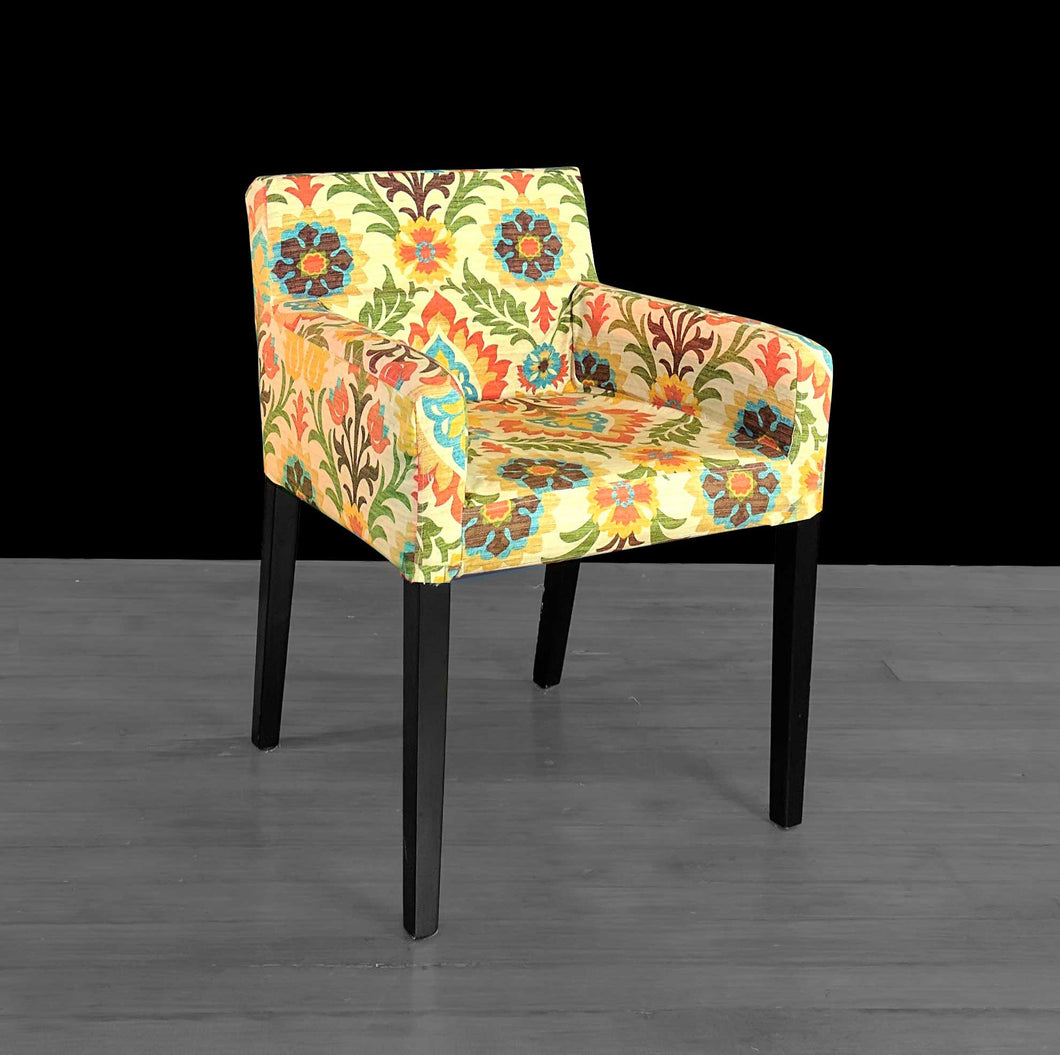 Floral IKEA NILS Chair Slipcover
