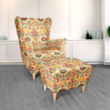 Rocking Chair Cushion - Santa Maria Adobe Floral