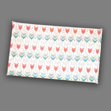 White Red Mint Green Arrow Print, IKEA STUVA Bench Pad Slip Cover