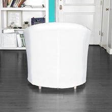 Load image into Gallery viewer, IKEA TULLSTA Chair Cover, Solid White Linen
