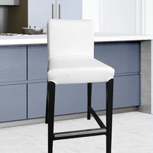 Load image into Gallery viewer, IKEA HENRIKSDAL Bar Stool Chair Cover, White Linen