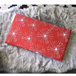 Sparks Red Slip Cover for IKEA HEMMAHOS Bench Pad