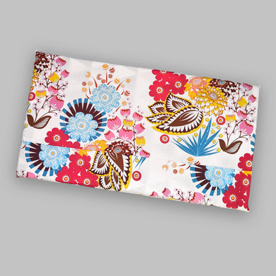 Bold Colorful Flowers IKEA STUVA Bench Pad Slip Cover