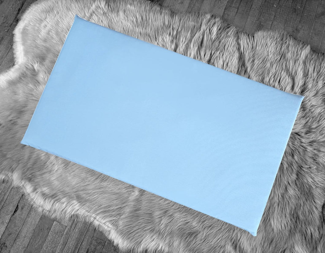Sunbrella Air Blue IKEA Window Seat Cushion Cover