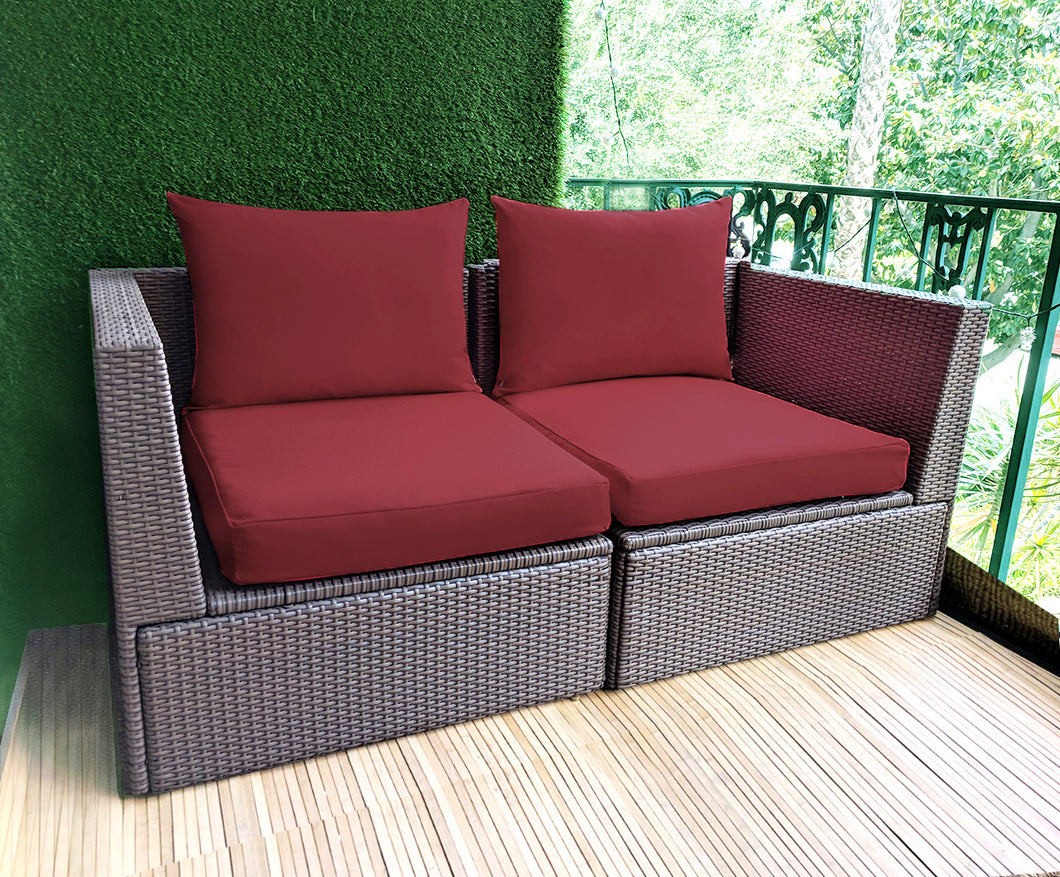 IKEA OUTDOOR Slip Cover, Sunbrella Burgundy Red