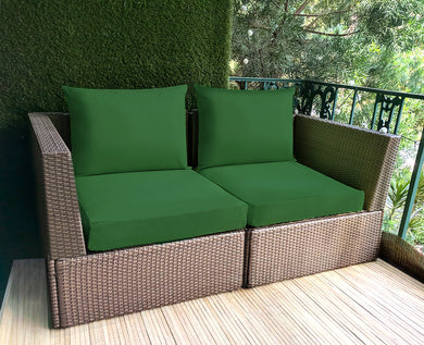 IKEA OUTDOOR Slip Cover, Sunbrella Forest Green