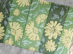Patchwork Floral Damask IKEA Bench Pad Cover