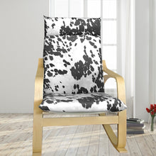 Load image into Gallery viewer, IKEA Poang, Faux Black Cow Print