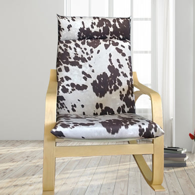 IKEA POÄNG, Cow Print Udder Madness Milk Brown