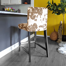 Load image into Gallery viewer, Cow Light Brown, IKEA HENRIKSDAL Bar Stool Chair Cover