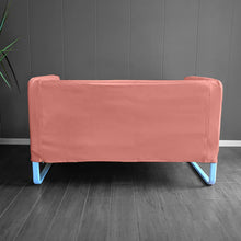 Load image into Gallery viewer, Blush Pink Velvet IKEA KNOPPARP Slip Cover