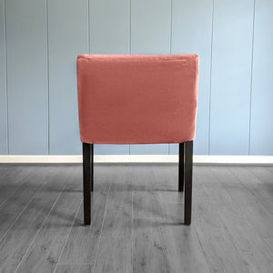 IKEA NILS Blush Pink Velvet Chair Cover