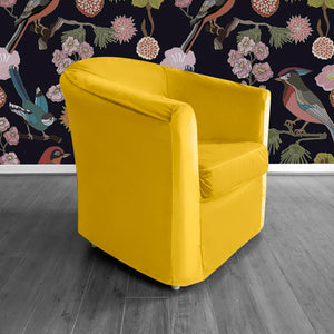 Velvet Gold IKEA TULLSTA Chair Cover