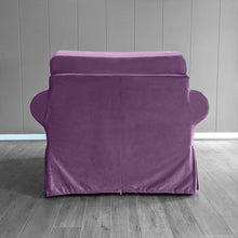 Load image into Gallery viewer, IKEA Ektorp Sofa Slipcover, Purple Velvet