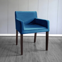 Load image into Gallery viewer, IKEA NILS Navy Blue Velvet Chair Cover