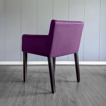 Load image into Gallery viewer, IKEA NILS Purple Velvet Chair Cover