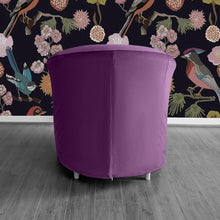 Load image into Gallery viewer, Velvet Purple IKEA TULLSTA Chair Cover