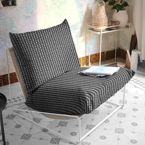 Black Vine Bohemian Print, IKEA Outdoor Slipcovers