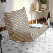 Load image into Gallery viewer, Taupe Vine Bohemian Print, IKEA Outdoor Slipcovers