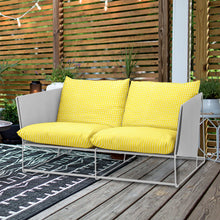 Load image into Gallery viewer, Vine Yellow Bohemian Print, IKEA Outdoor Slipcovers
