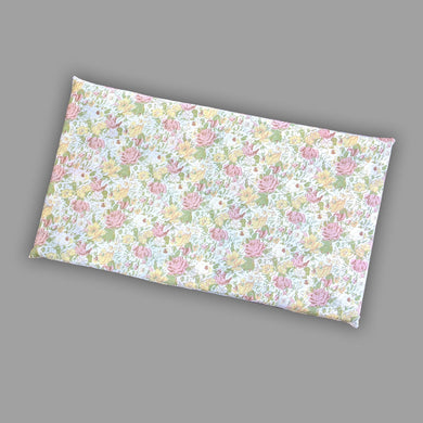 Vintage Floral Print Bench Pad Cover