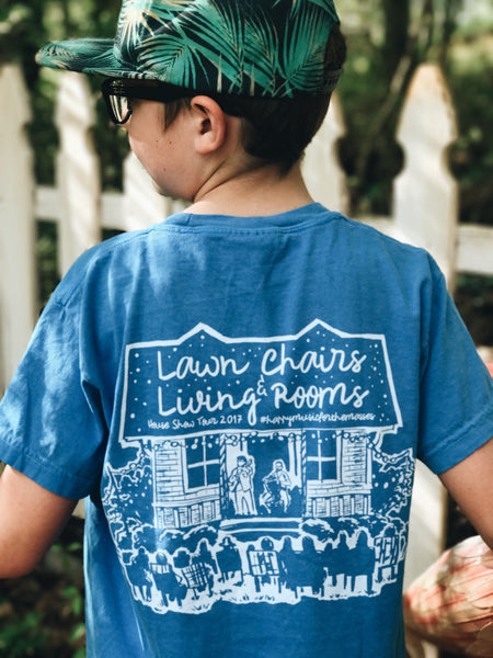 2017 Lawn Chairs and Living Rooms Tee (Kids)