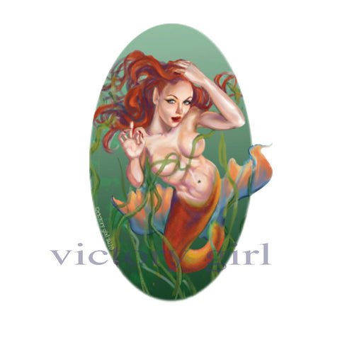 D1017 Diecut Mermaid