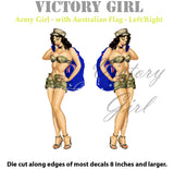D1058 Army Girl-Aussie