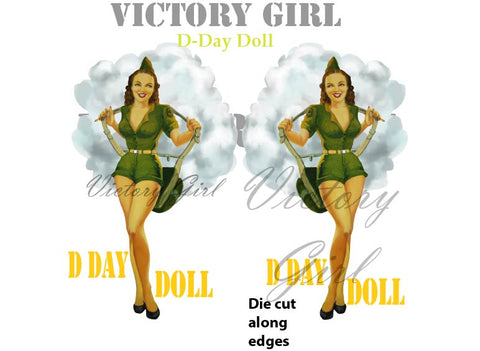 D1070 D-Day Doll Nose Art