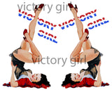 D1149 Victory Girl Nose Art