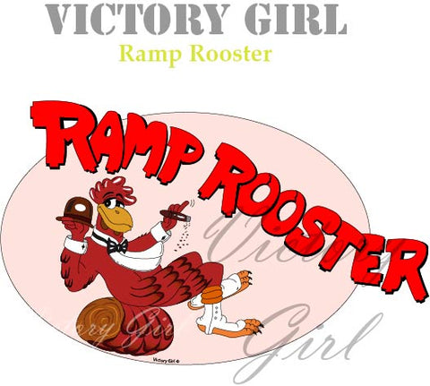 D1162 Ramp Rooster