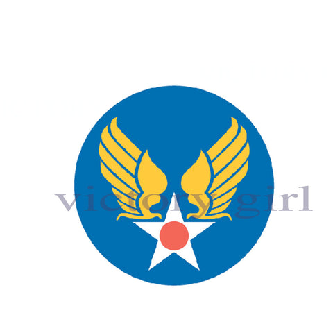 D1175 US Army Air Forces Insignia - Roundel