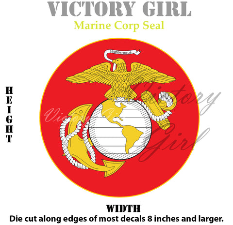 D1181 Marine Corps Seal