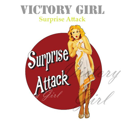 D1210 Surprise Attack Nose Art